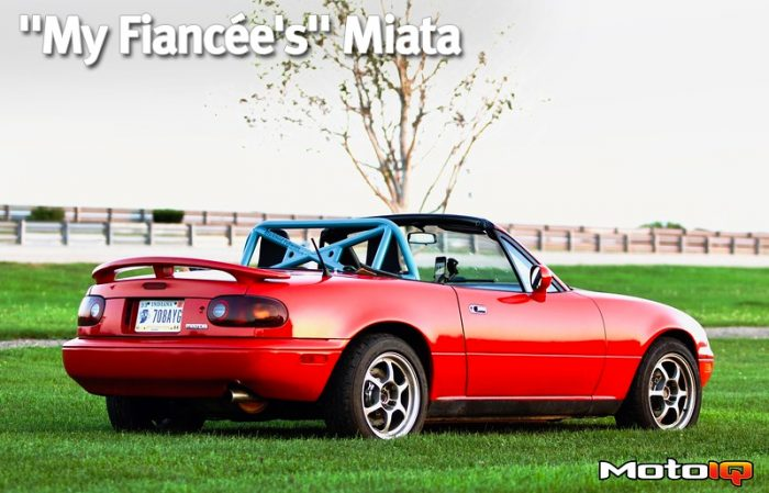 "Fresh ""My Fiancee's"" Miata Article at MotoIQ"