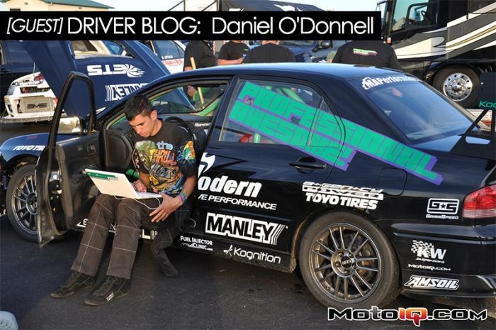 Guest Driver's Blog on MotoIQ.com